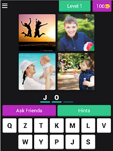screenshot of ?4 Pics 3 Letter Word: Puzzle??? version 3.4.8z