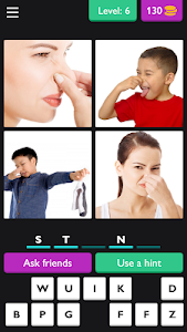 screenshot of ?4 Pics 5 Letter Word: Puzzle?? version 3.5.8z