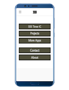 screenshot of 555 Timer Projects version 7.0.3