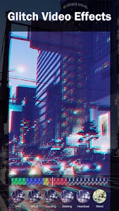 screenshot of 90s - Glitch VHS & Vaporwave Video Effects Editor version 1.4.7