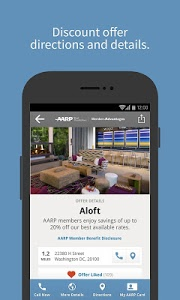 screenshot of AARP Member Advantages version 3.1.2