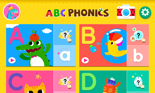 screenshot of ABC Phonics version 30