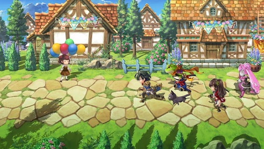 screenshot of ANOTHER EDEN The Cat Beyond Time and Space version 2.1.400