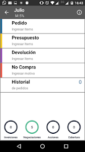 screenshot of AX-PIC Pedidos version 1.02.97