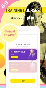 screenshot of Abs Workout Pal - 7 Minutes Home Fitness App version 1.3.7