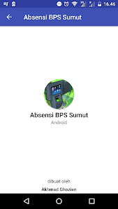 screenshot of Absensi BPS Sumut version 7.5