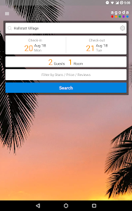 screenshot of Agoda – Hotel Booking Deals version 6.21.0