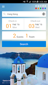 screenshot of Agoda – Hotel Booking Deals version 3.2.1