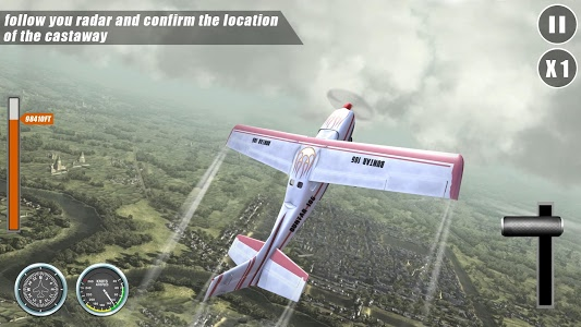 screenshot of Airplane Go: Real Flight Simulation version 4.3