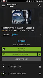 screenshot of Amazon Prime Video version Varies with device