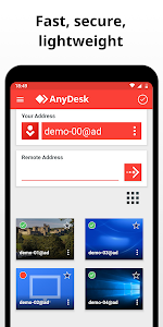 screenshot of AnyDesk Remote Control version 5.1.0
