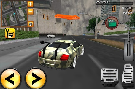 screenshot of Army Extreme Car Driving 3D version 1.8