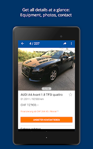 screenshot of AutoScout24 Switzerland – Find your new car version 3.7.5