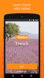 screenshot of Babbel – Learn French version Varies with device