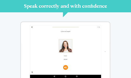 screenshot of Babbel – Learn Languages version 20.16.0