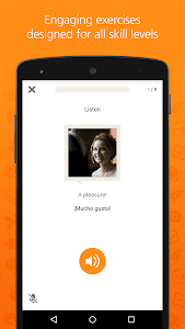 screenshot of Babbel – Learn Languages version 5.6.4.121413