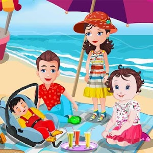screenshot of Baby Lisi Beach Party version 1.5.5