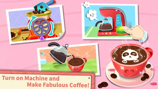 screenshot of Baby Panda's Café- Be a Host of Coffee Shop & Cook version 8.29.00.00