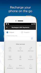 screenshot of Bajaj Finserv Wallet - No Cost EMIs, Recharges version 8.2
