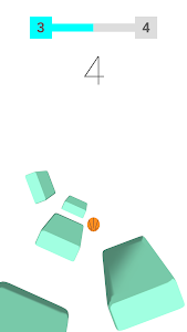 screenshot of Basketball Endless Void version 1.1