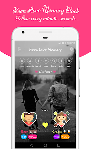 screenshot of Been Love Memory - Love Counter 2019 version 2.1.56