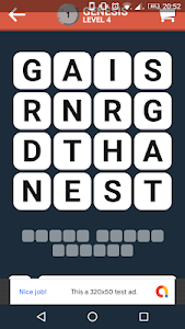screenshot of Bible Words Finder - Word Puzzle Game version 1.6
