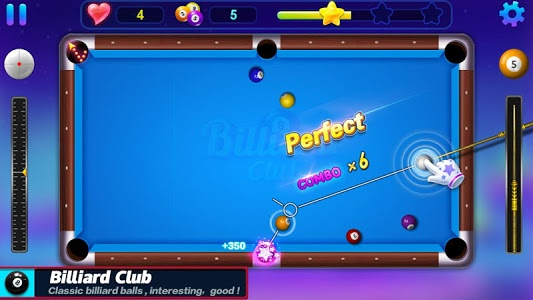 screenshot of Billiards Club version 1.5