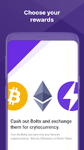screenshot of Storm Play - Crypto, Bitcoin & Ethereum for Free version 7.0.4