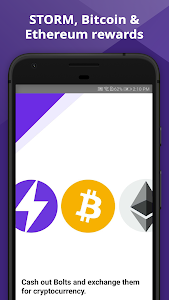 screenshot of Storm Play - Crypto, Bitcoin & Ethereum for Free version 6.6.0