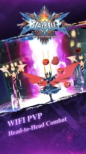 screenshot of BlazBlue RR - Real Action Game version 1.32