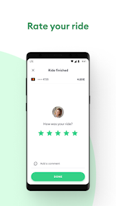 screenshot of Bolt (formerly Taxify) version CA.5.26