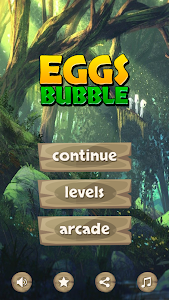 screenshot of Bubble Eggs version 1.0.2