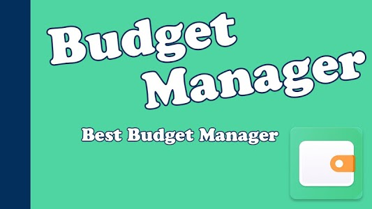 screenshot of Budget Manager - Accounts Manager version 1.0
