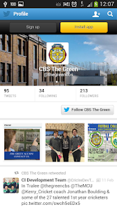 screenshot of CBS The Green version 1.2