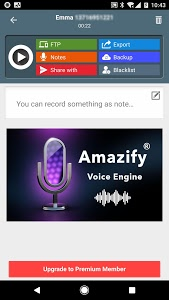 screenshot of Call Recorder ACR: Record both sides voice clearly version 1.2.2