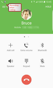 screenshot of Call Recorder: Record phone calls automatically version 1.1.38