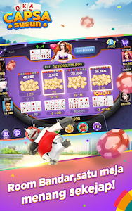 screenshot of Capsa Susun Online:Poker Free version 2.4.0.0