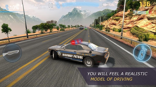 screenshot of CarX Highway Racing version 1.58.2