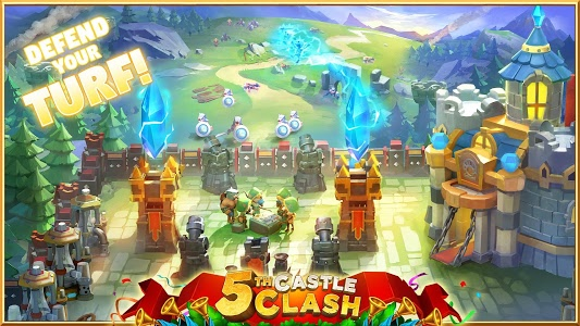 screenshot of Castle Clash: Heroes of the Empire US version 1.5.5