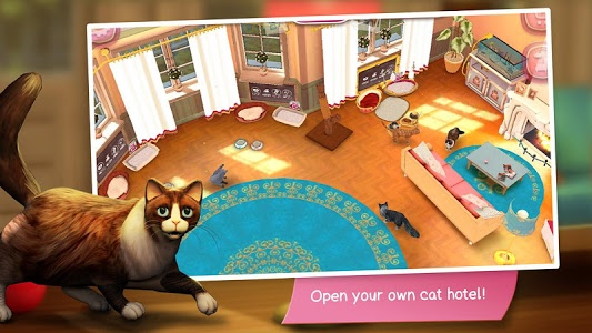 screenshot of CatHotel - Hotel for cute cats version 2.1.6