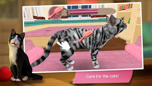 screenshot of CatHotel - Hotel for cute cats version 2.0.16190