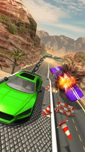 screenshot of Chained Car Racing Games 3D version 2.4