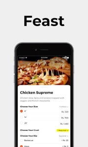 screenshot of Cheetay - Online shopping and food delivery version 3.2.1