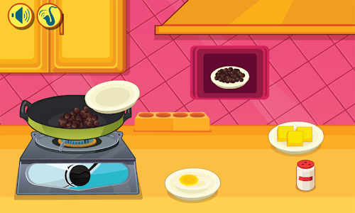 screenshot of Chocolate Pizza Cookery version 1.0.1