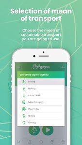 screenshot of Ciclogreen - gifts for your sustainable mobility version 3.6