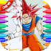 Coloriage DBS -( dragon ball supers )-