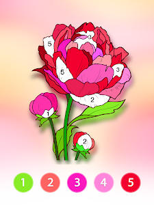 screenshot of Coloring Fun : Color by Number Games version 1.0.11