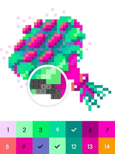 screenshot of No.Color – Color by Number version 1.1.0