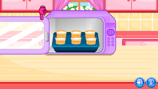 screenshot of Cone Cupcakes Maker version Varies with device