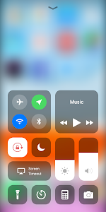 screenshot of Control Center iOS 13 version 1.05